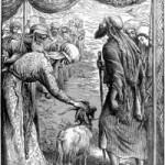 """שילוח השעיר לעזאזל ציור של ויליאם ג'יימס ווב מתוך """"ויקיפדיה"""""""
