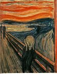 """The Scream"". דרך ויקיפדיה - http://he.wikipedia.org/wiki/%D7%A7%D7%95%D7%91%D7%A5:The_Scream.jpg#mediaviewer/File:The_Scream.jpg"
