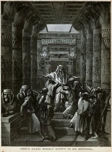 יוסף חושף את זהותו לאחיו, גוסטב דורה