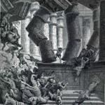 מותו של שמשון - גוסטב דורה (1866)