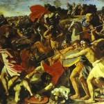 קרב יהושע בעמלקים ניקולא פוסן, 1594-1665 מוזיאון ההרמיטאז', סן פטרסבורג, רוסיה