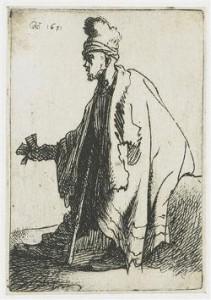 המצורע,  רמברנט, 1631