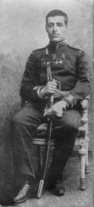 יוסף טרומפלדור במדי צבא רוסיה